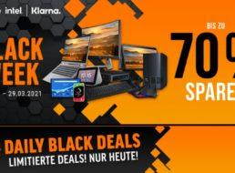 NBB: Black Week mit bis zu 70 Prozent Rabatt auf IT-Produkte