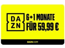 Lidl: 7 Monate DAZN für 59,99 Euro