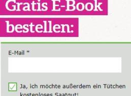 Gratis: Blumensamen vom Umweltinstitut München frei Haus