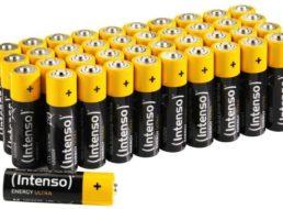 Ebay: Intenso-Batterien im 40er-Pack für 8,49 Euro frei Haus