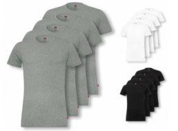 Levi's: Viererpack T-Shirts für 36,99 Euro frei Haus