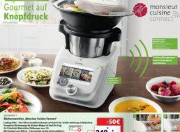 "Lidl: Monsieur Cuisine Connect ""SKMC 1200 E5"" jetzt für 349 Euro verfügbar"