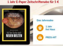 National Geographic: ePaper zum Jahrespreis von 5 statt 55 Euro