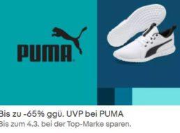 Puma: Sale bei Ebay mit bis zu 65 Prozent Rabatt