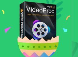 Gratis: VideoProc als Oster-Geschenk zum Nulltarif