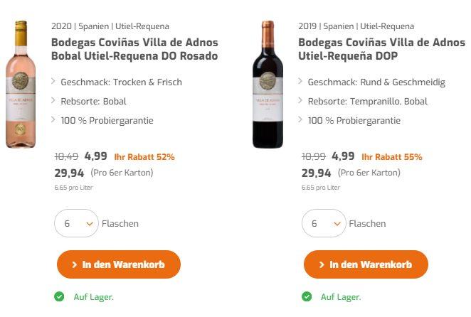 Exklusiv: Goldprämierte Weine aus Spanien für 47,88 Euro im 12er-Pack
