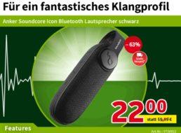 Völkner: Anker Soundcore Icon black für 22 Euro frei Haus