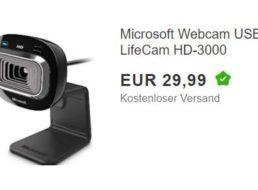 Ebay: Microsoft-Webcam LifeCam HD-3000 für 29,99 Euro frei Haus