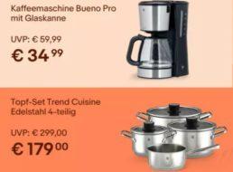 WMF: Sale bei Ebay mit Küchenartikeln ab 4,99 Euro frei Haus