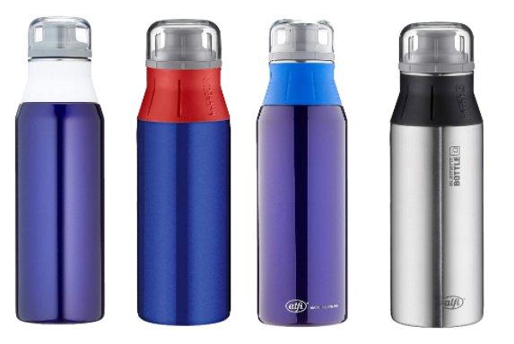 Alfi Premium: Trinkflasche mit 0,9 Liter Volumen für 11,99 Euro via Ebay