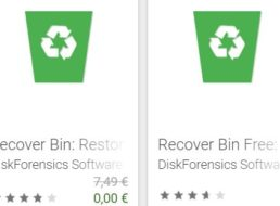 "Gratis: App ""Recover Bin"" für 0 statt 7,49 Euro"