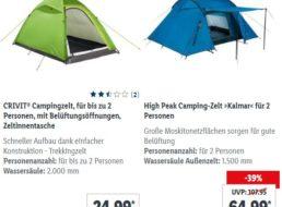 Lidl: Campingzubehör und E-Faltrad im Angebot