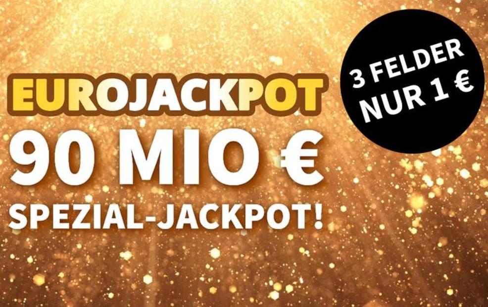 Euro-Jackpot: Sonderziehung bei Lottohelden mit 90 Millionen Euro