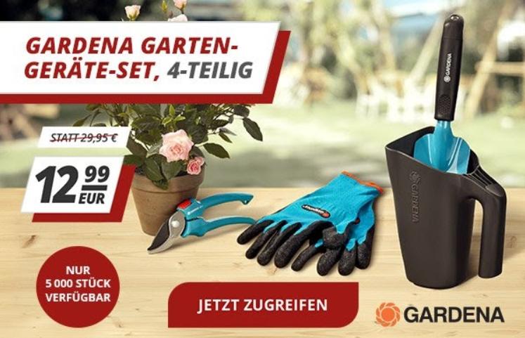 Gardena: Gartenset via Druckerzubehoer.de für 12,99 statt 23,23 Euro