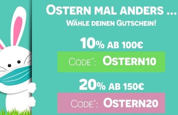Jeans Direct: Rabatt von 10-20 Prozent bis Ostermontag