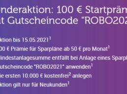 Gratis: 100 Euro zum ETF-Sparplan über monatlich 50 Euro bei Quirion