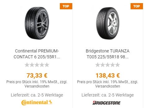 Reifen24: Drei Prozent Rabatt auf alle Reifen bis Ende April