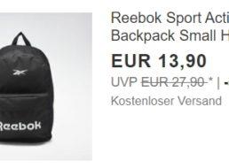 Reebok: Rucksack für 13,90 Euro frei Haus via Ebay
