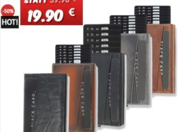"""Dealclub: Smarte Kartenbörse """"Solo Pelle"""" mit RFID-Schutz für 19,90 Euro"""
