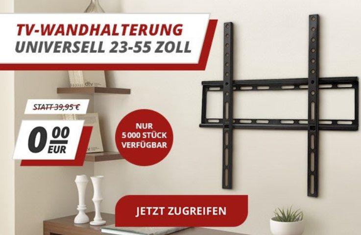 Druckerzubehoer.de: TV-Wandhalterung zur Bestellung geschenkt