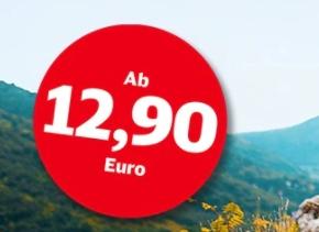 Bahn: Super Sparpreis Young ab 9,68 Euro