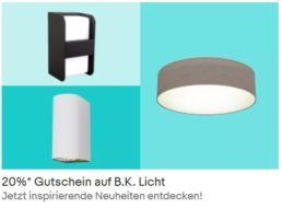 B.K. Licht: 20 Prozent Rabatt auf smarte LED-Birnen und mehr