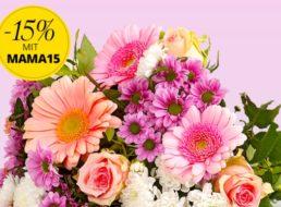 Blumeideal: Muttertags-Rabatt von 15 Prozent