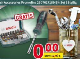 Gratis: Bosch-Bitset bei Völkner ab 79,99 Euro Warenwert geschenkt