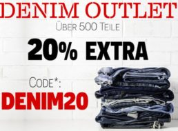 Jeans Direct: Denim Outlet mit 20 Prozent Extra-Rabatt