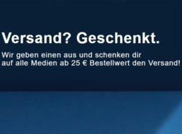 Rebuy: Gratis-Versand ab 25 Euro Warenwert bis Mittwoch