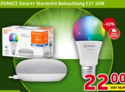 Völkner: LED-Set mit Google Home Mini für 22 Euro frei Haus