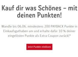 Rewe: Bis zu 500 Payback-Punkte geschenkt bei Einlösung