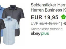 Seidensticker: Bügelfreie Kurzarmhemden für 19,95 Euro frei Haus