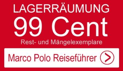 Marco Polo: Reiseführer via Terrashop für 99 Cent
