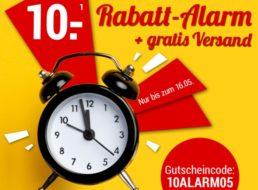 Weltbild: 10 Euro Rabatt und Gratis-Versand bis Sonntag