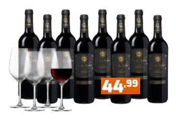 Weinvorteil: 8 Flaschen Casa Safra & 4 Gläser für 44,99 Euro