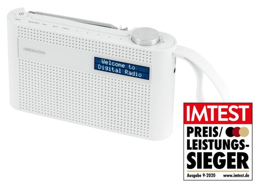 Ebay: DAB-Radio von Medion mit Bluetooth und UKW für 22,99 Euro