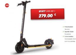 Dealclub: eScooter mit StVZO-Zulassung für 279 Euro