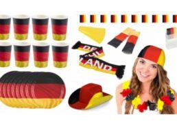 Ebay: Deutschland-Fanset mit Cowboyhut und Tatoos für 12,99 Euro