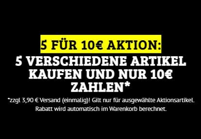Dealclub: Fünf Drogerieartikel nach Wahl für 13,90 Euro frei Haus