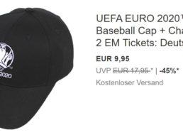 Ebay: EM-Cap mit Ticketchance aufs Portugal-Spiel für 9,95 Euro