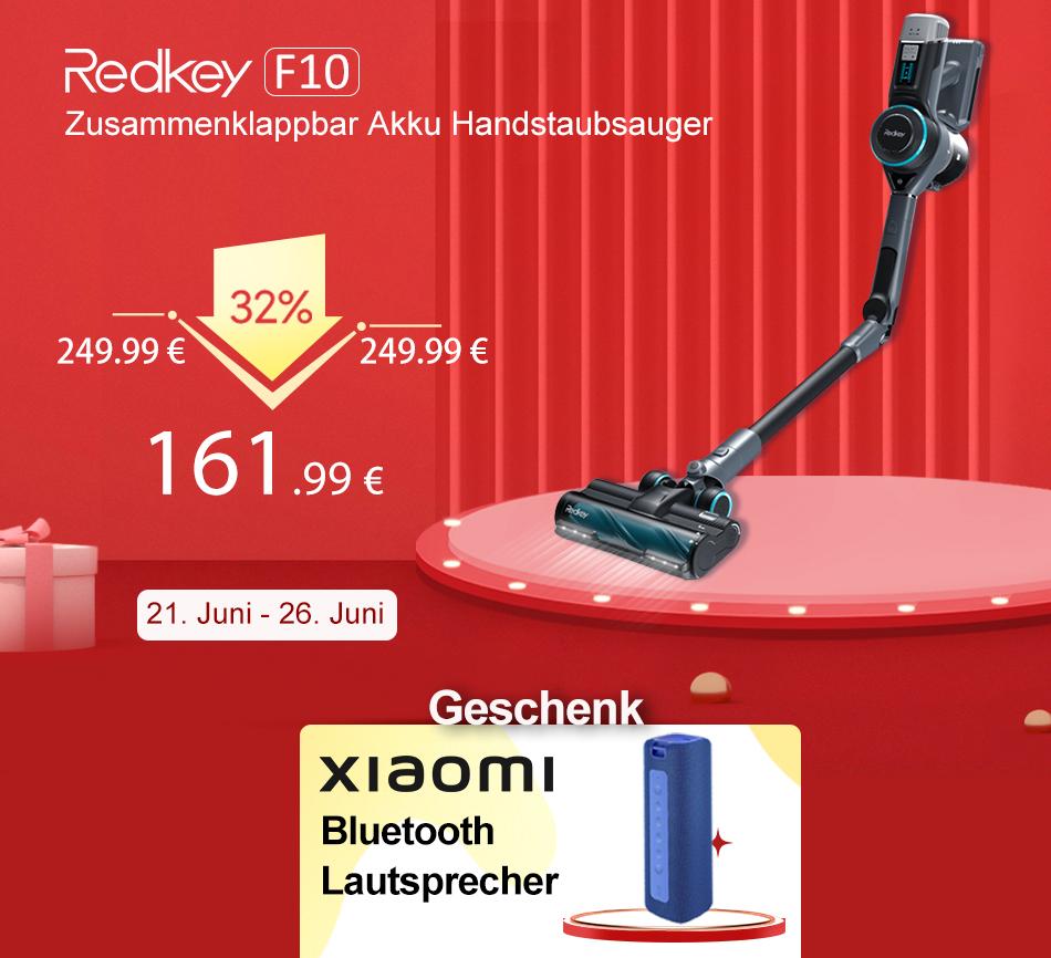 Ebay: Klappbarer Akku-Staubsauger mit Gratis-Lautsprecher für 161,99 Euro