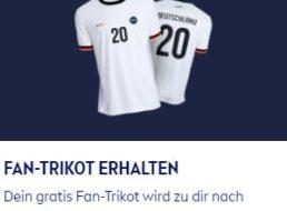 Gratis: Fantrikot zur Fußball-EM 2021 via Nivea