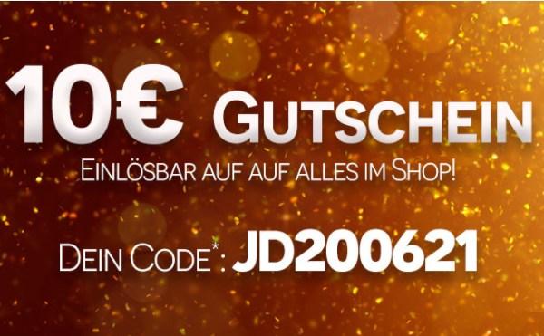 Jeans Direct: 10 Euro Rabatt auf alles ab 70 Euro Warenwert