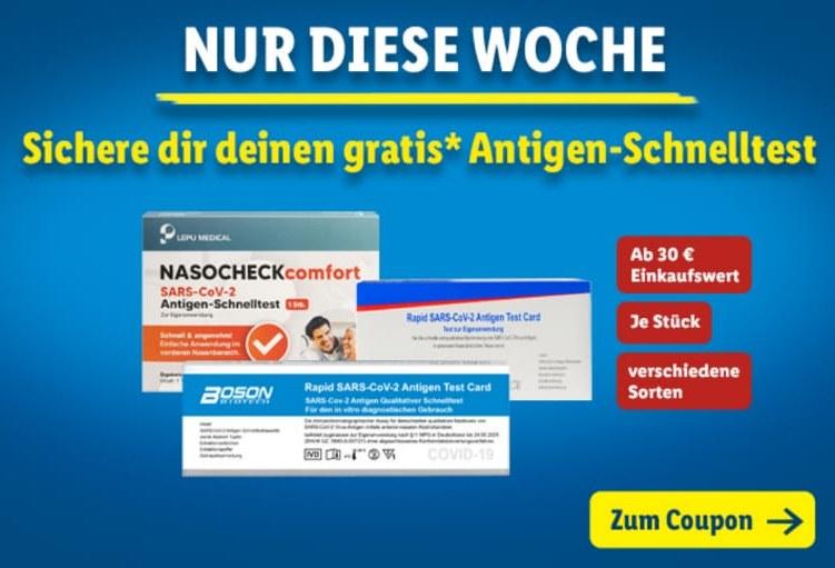 """Gratis: Antigen-Schnelltest via """"Lidl Plus"""" zum Nulltarif"""