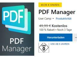 Microsoft: PDF Manager Pro für 0 statt 49,95 Euro