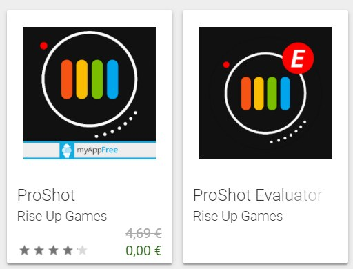 """Gratis: App """"Pro Shot"""" bis Samstag zum Nulltarif"""