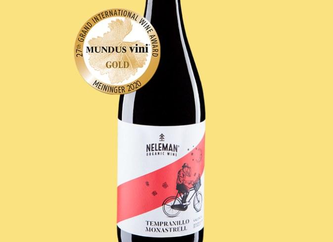 Nelemann: Goldprämierter Bio-Wein im Sechserpack für 29,99 Euro frei Haus