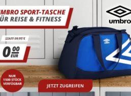 Druckerzubehoer.de: Umbro-Reisetasche zur Bestellung geschenkt