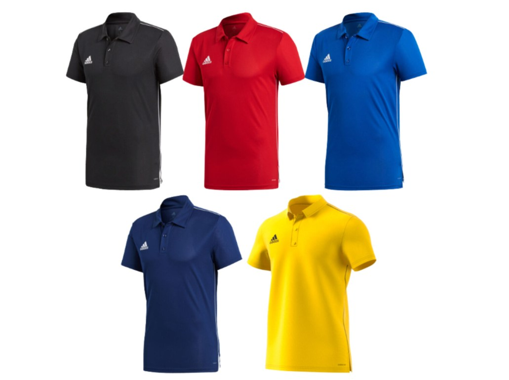 Ebay: Poloshirt Adidas Core 18 mit Gutschein für 16,96 Euro
